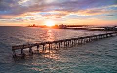 A Long Journey... (Trey Ratcliff) Tags: treyratcliff stuckincustoms stuckincustomscom tour art photography event sunset beach pier ocean talk speaking usa canada florida dji phantom 4 pro quadcopter drone