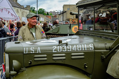 XPRO6964-1 Brighouse, uk. 1940's weekend June 1st 2019 (Lawrence Holmes.) Tags: fuji xpro1 xf1855mmf284rlmois brighouse 1940s 1940 reenactment nostalgia brighouse1940sweekendjune1st2019 calderdale westyorkshire uk usa brighouse1940sweekend lawrenceholmes