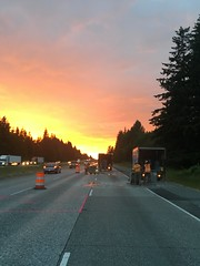 I-5 construction work (WSDOT) Tags: wsdot paving i5 skagit county snohomish starbird road sr 530 concrete panels concretepanelreplacement graham construction work zone safety building vehicle ab