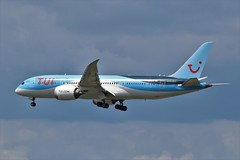 TUI Boeing 787-8 G-TUIC (Adam Fox - Plane and Rail photography) Tags: plane aircraft airliner jet airplane aeroplane sky clouds manchester airport egcc thomson dreamliner dream maker