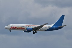 Jet2 Boeing 737-800 G-GDFF (Adam Fox - Plane and Rail photography) Tags: plane aircraft airliner jet airplane aeroplane sky clouds manchester airport egcc jet2holidays jet2com
