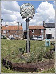 Village Sign for Hempon Norfolk. also Known as Hamatuna (Alan B Thompson) Tags: 2019 june sign lumix fz82 picassa