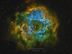 Rosette_SHO_labeled_png (thomasrrussell1) Tags: astrophotography space night nightphoto hubble astrodon zwo oriontelescopes nebula rosette