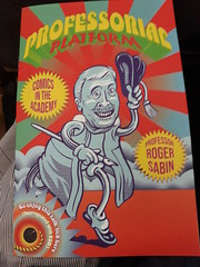 6th June 2019 (themostinept) Tags: professorialplatform booklet publication comic comicsintheacademy professorrogersabin johnmiers 2019 ual universityoftheartslondon csm centralsaintmartins london