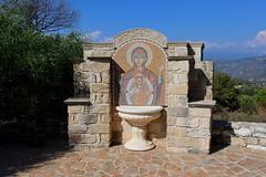 Monastery of Panagia Salamiotissa (Terry Hassan) Tags: cyprus kıbrıs κύπροσ fountain icon christian orthodox monastery panagiasalamiotissa