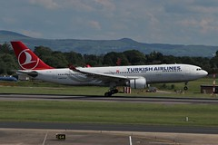 Turkish Airlines Airbus A330-200 TC-JNB (Adam Fox - Plane and Rail photography) Tags: plane aircraft airliner jet airplane aeroplane sky clouds manchester airport egcc