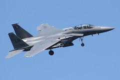 USAF F-15E Strike Eagle (nickchalloner) Tags: 910306 91306 mcdonnell douglas boeing f15e f15 strike eagle 492 492nd fs fighter squadron 48 48th fw wing liberty ln raf lakenheath royal air force lkz egul usaf usafe united states america