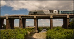 and 20 minutes later.... (peterdouglas1) Tags: transportforwales dbcargo class67 67014 llandulas northwalescoastrailway northwalescoast viaducts