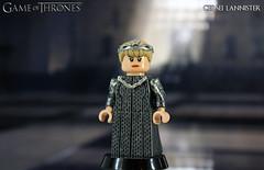 Custom LEGO Game of Thrones: Cersei Lannister (LegoMatic9) Tags: custom lego game thrones cersei lannister queen minifigure
