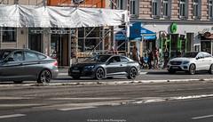 Fast Sedan (Hunter J. G. Frim Photography) Tags: supercar germany munich audi rs5 v8 sedan turbo german awd silver gray grey audirs5