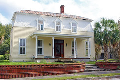 Second Empire Style House, Tuscawilla Park Historic District, Ocala (StevenM_61) Tags: house architecture florida historical residence ocala secondempirestyle