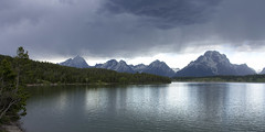 Grand Tetons and Jackson Lake (swissuki) Tags: jacksonlake moran grandteton wy wyoming national park mountain lake nature landscape thunderstorm sky