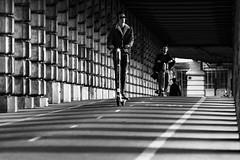 Pont de Bercy, Paris, France (o.mabelly) Tags: sony a7rii paris carl zeiss contax yashica ilce7rm2 novoflex cy france alpha contaxyashica a7rm2 a7 ilce europe city ville f4 teletessar tele tessar 300mm pont bercy bridge blackwhite black white noirblanc noir blanc