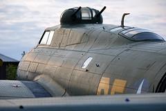 G-BEDF - Boeing B-17G Flying Fortress - EGSU (Seán Noel O'Connell) Tags: gbedf boeing b17g flyingfortress sallyb duxford egsu daksoverduxford aviation avgeek aviationphotography planespotting memphisbelle
