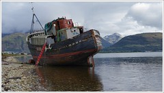 Corpach Shipwreck (Ben.Allison36) Tags: corpach shipwreck loch linnhe fort william caol scotland mvdayspring harvest golden lochaber kilmallie fishing boat ben nevis