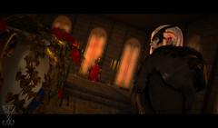 ~Fate that Binds~ (Ranmyaku Haiku) Tags: devil baroness fantasy chronicles lynnea jin idoreth demon royalty castle roses court dark secondlife sl roleplay slrp characters 3d