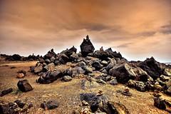Wishing Stones (Rupam Das) Tags: nikon nikkor d850 24120mm stone travel aruba wish landscape natural belief history explore travelogue nature sky hue twilight