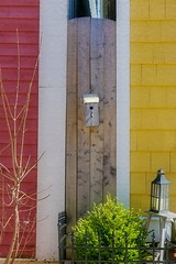 Choose Your Color    HFF (Note-ables by Lynn) Tags: hff fences fencefriday charlottetown pei birdhouse