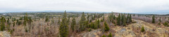 View from Ojibway Tower (RPahre) Tags: isleroyalenationalpark isleroyale panorama pano mountojiway lakesuperior ontario sleepinggiant thunderbay pieisland greenstoneridge greenstonetrail firetower upperpeninsula keweenawpeninsula michigan unitedstates canada wilderness