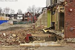 4350 (ontario photo connection) Tags: toronto honesteds mirvishvillage demolition demolished demo urbanlandscape urban derelict decay