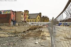 3350 (ontario photo connection) Tags: toronto honesteds mirvishvillage demolition demolished demo urbanlandscape urban derelict decay