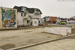 1350 (ontario photo connection) Tags: toronto honesteds mirvishvillage demolition demolished demo urbanlandscape urban derelict decay