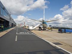 London City Airport (James E. Petts) Tags: aircraft avrorj bae146 aeroplane airplane aviation jet london transport