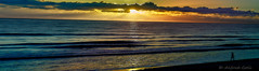 Almanecer en Soledad (Alfredo Rafael) Tags: sonye1850 prime sunrise beach colors warm crepuscular panoramic golden atlantic seashore florida melbourne