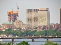 IMG_1858 (dzh2282) Tags: boston cambridge memorialdrive bu bubridge charlesriver skyline skyscraper construction buildings massachusetts newengland