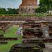 Stupa where the Buddha taught