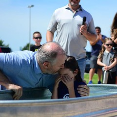 Parker shared a public declaration of her faith and trust in Jesus through baptism this week! Go Parker 🙌 We are with you on this journey of following Christ. (rcokc) Tags: parker shared public declaration her faith trust jesus through baptism this week go 🙌 we with you journey following christ
