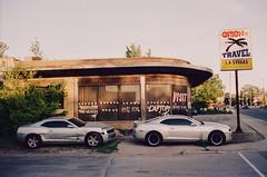 Hard Drive's Memories (Džesika Devic) Tags: film leicam6 crossprocess cars lasvegas dump street streetphotography 35mm