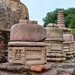 Ruins near the stupa