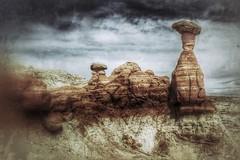 the toadstools (hmong135) Tags: toadstools utah sandstone patterns texture rimrock