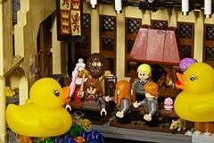 Duck 126 of 365 (don_espe) Tags: 365 365day duck ducky hagrid harrypotter hermonie hogwarts lego legoharrypotter magic rubberduck rubberducky wand