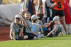 HOW DID THEY SEE ME?! (Minda Haas Kuhlmann) Tags: sports baseball milb minorleaguebaseball pacificcoastleague omahastormchasers nebraska omaha sarpycounty papillion outdoors fans onfieldpromotions