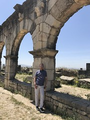 Volubilis (ancient Roman city) (TomChatt) Tags: morocco volubilis roman arch george