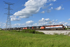 Joliet Bound (Robby Gragg) Tags: bcol bc rail c408m 4614 naperville