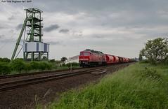 232 669 Ilberstedt 06.06.2019 (Falk Hoffmann) Tags: diesellok eisenbahn bahnhof güterzug dbcargo dbschenker ludmilla br132 br232