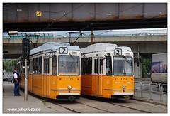 Tram Budapest - 2019-12 (olherfoto) Tags: tram tramcar tramway strasenbahn villamos budapest ungarn hungary bkv ganz