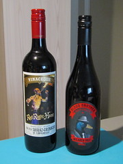 Unusual wine bottle labels (Pat M2007) Tags: cf19 label