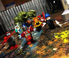 It's a Squad (Lord Allo) Tags: lego dc suicide squad task force x deadshot katana captain cold boomerang harley quinn killer croc deathstroke cheetah