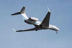 business jet  GULFSTREAM G650ER (kasa51) Tags: airplane aircraft businessjet tokyo japan gulfstreamg650er ビジネスジェット