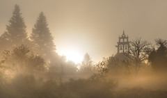 Callobre (Noel F.) Tags: callobre estrada galiza galicia neboa fog mist sony a7 voigtlander 110 apo panorama