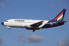 HA-LEC Heathrow 11-10-1998 (Plane Buddy) Tags: halec boeing 737 malev heathrow lhr
