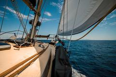 Sail away, sail away, sail away.... (Dafydd Penguin) Tags: sail away sailboat sailing boat yacht yachting cruising cruise greece aegina island saronic gulf leica m10 super elmar 21mm f34 asph