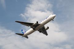 B767 ANA Cargo (kasa51) Tags: airplane jetplane cargo tokyo japan b767 ana 飛行機 貨物機 航空貨物