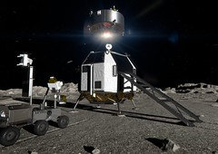 Heracles lunar liftoff (europeanspaceagency) Tags: esa europeanspaceagency space universe cosmos spacescience science spacetechnology tech technology heracles lunarrover rover lunar moon lunarsample animation solarsystem robot roboticexploration artistsimpression