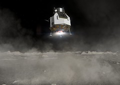 Heracles landing on the Moon (europeanspaceagency) Tags: esa europeanspaceagency space universe cosmos spacescience science spacetechnology tech technology heracles lunarrover rover lunar moon lunarsample animation solarsystem robot roboticexploration artistsimpression