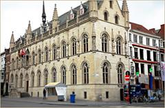 Stadhuis (Hôtel de Ville) Kortrijk (Courtrai) Flandre Occidentale, Belgium (claude lina) Tags: claudelina belgium belgique belgië kortrijk courtrai flandreoccidentale architecture stadhuiskortrijk hôteldevilledecourtrai